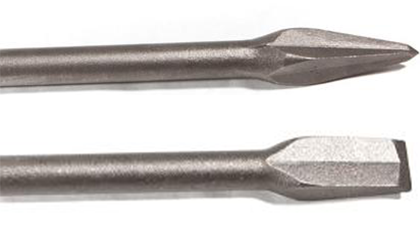 Chipping Hammer Tools Stealth Points and Stealth Chisels